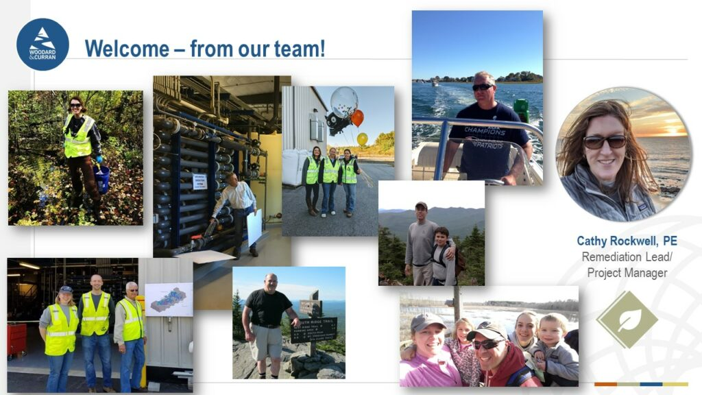A collage of images introducing the members of the Beede Site Group.